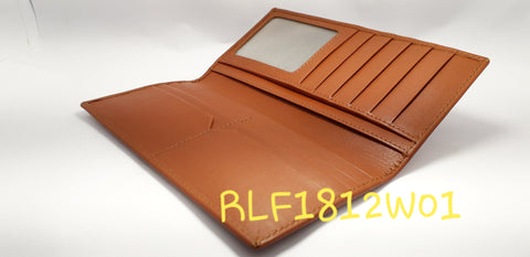 Tan Color Leather Women Wallet  - RLF1812W01
