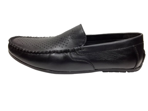 Black Color Leather Tpr Men's Formal Shoes - RP-1804