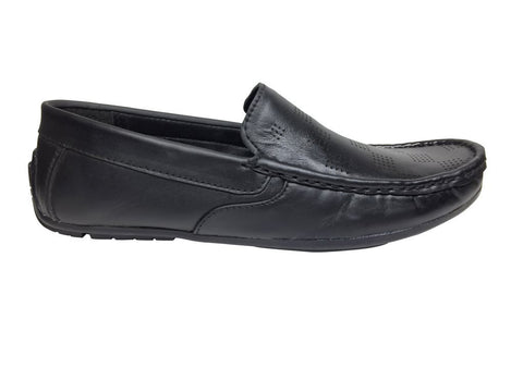 Black Color Leather Tpr Men's Formal Shoes - RP-1819