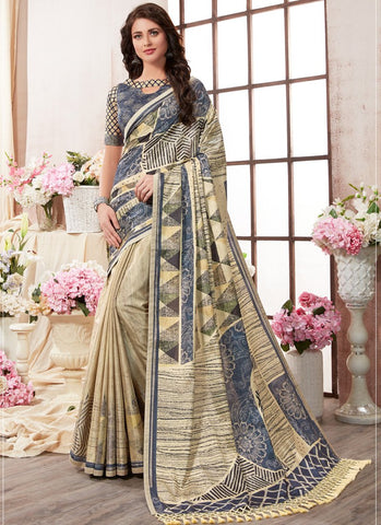 Multi Color Kanjeevaram Silk Saree - RS1440