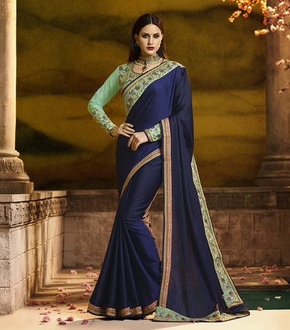 Green Color Barfi Silk Saree RT-1162