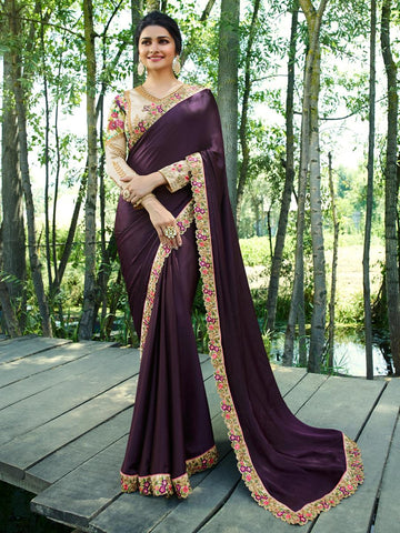 Beige Color Rangoli Silk Saree RT-1968