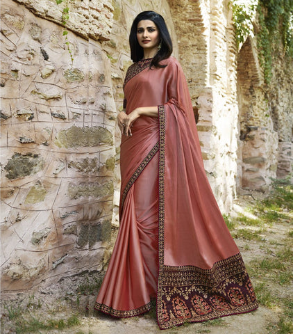 Maroon Color Sana Silk Saree RT-1998