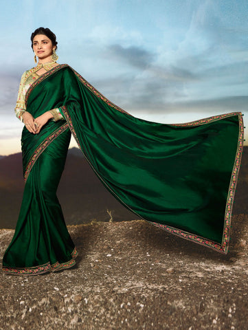 Beige Color Rangoli Silk Saree RT-2073