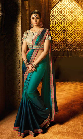 Beige Color Rangoli Silk Saree RT-2112