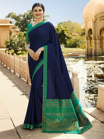 Blue Color RANGOLI SILK Saree - RT-P29