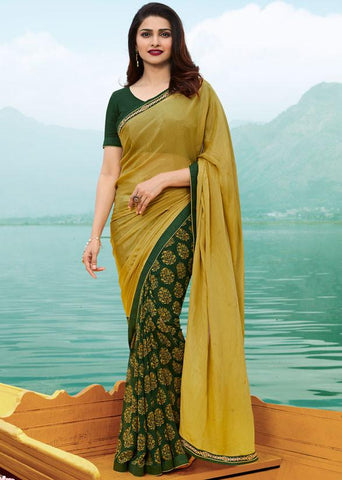 Multi Color Major Georgette Saree - RT-VP047