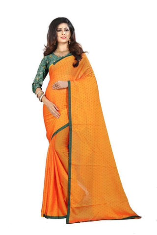 Yellow Color Silk Women's Embroidered Saree - RVF02E06907