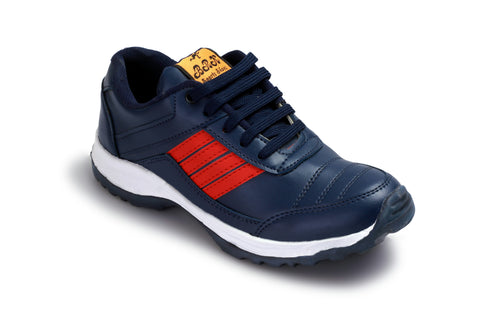 Blue Color Synthetic Foam Men Shoe - RedinBlue