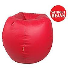 Red Color Bean Bag Cover With Out Bean