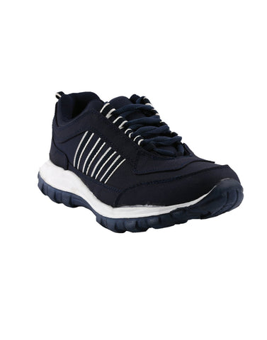 Navy Blue Color Synthetic Men Shoes - Ritz-Navy