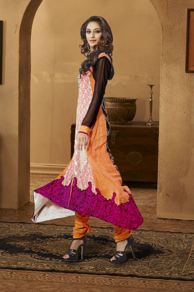 Multi Color Georgette Salwars