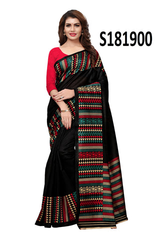 Black Color Kashmiri Silk Saree - S181900