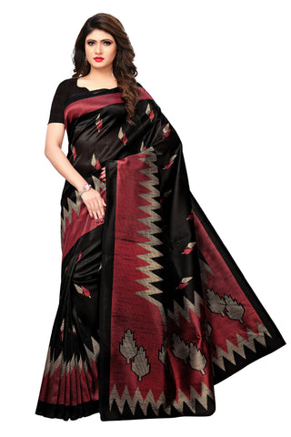Black Color Kashmiri Silk Saree - S181966