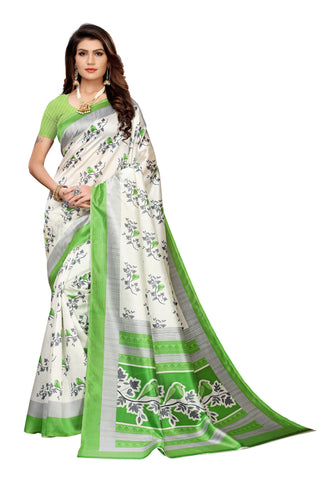 Off White Color Art Silk Women's Saree - S183511