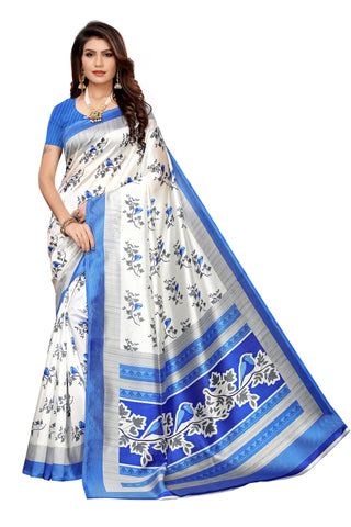 Off White Color Art Silk Women's Saree - S183513