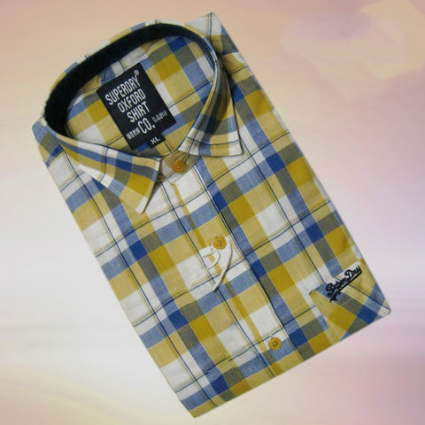 Multi Color Pure Linen Men Shirt - SDS-3