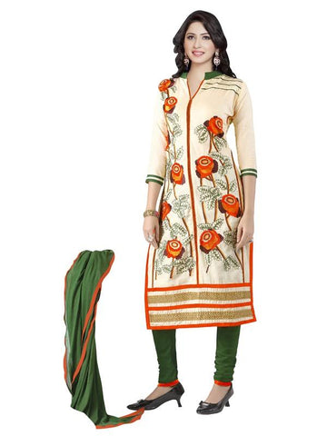 Beige Color Cotton Un Stitched Salwar - SFST-MSMMTN2803