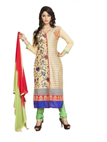 Beige Color Cotton Un Stitched Salwar - SFST-MSMMTN710