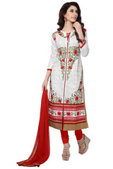 White  Color Cotton Salwar