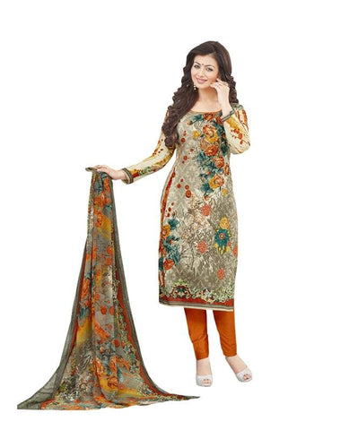 Multi Color Cotton Un Stitched Salwar - SFST-SNSMSF591