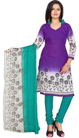 Purple Color Cotton Un Stitched Salwar - SFST-VSPKJ527