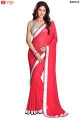 SRP FASHION- women's Beautiful Georgette saree  - SOF070