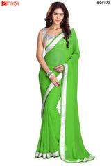 SRP FASHION- women's Beautiful Georgette saree  - SOF73