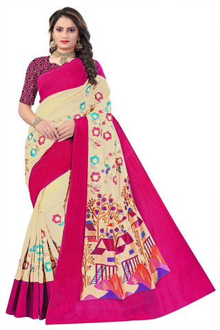 Off White Color Soft Art Silk Saree - SRP-108OffWhite