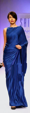 Blue Color Satin Saree - SRP-14SatinBlue