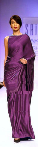 Violet Color Satin Saree - SRP-14SatinViolet