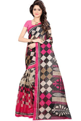 Multi Color Bhagalpuri Saree