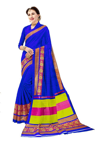 Blue Color Bhagalpuri Saree - SRP-Rupa Blue