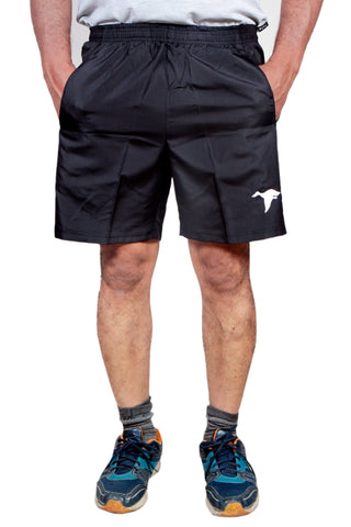Black Color Cotton Mens Short - SRTDBRD010