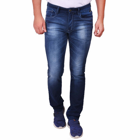 Mid Navy Color Denim Men's Jeans - SS19AMCJS1001
