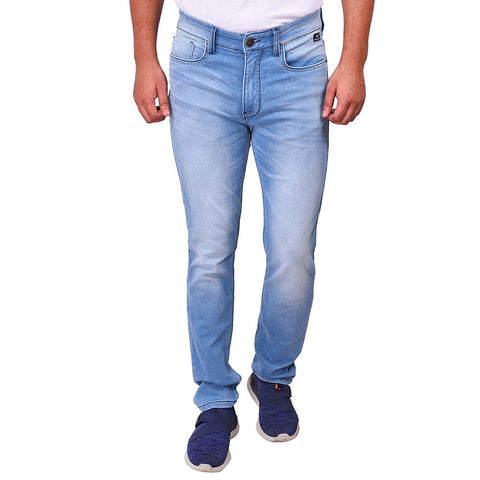 Ice Wash Color Denim Men's Jeans - SS19AMCJS1002