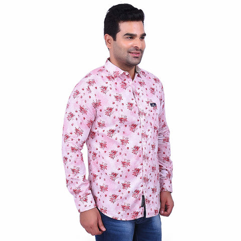 RedColor Cotton Men's Printed Shirt - SS19AMCSH1023