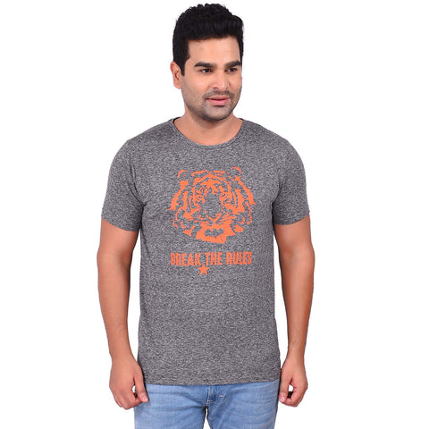 GreyColor Cotton Men's Printed TShirt - SS19AMCTE1005