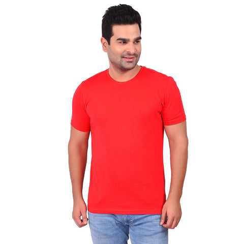 RedColor Cotton Men's Solid TShirt - SS19AMCTE1050