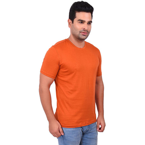 CopperColor Cotton Men's Solid TShirt - SS19AMCTE1051