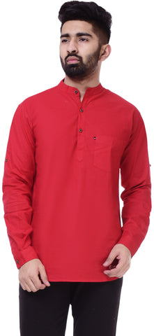 RedColor Cotton Men's Solid Shirt - ST413