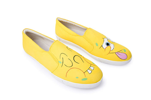 Multi Color  Canvas Unisex Shoe - Sponge-Bob-17