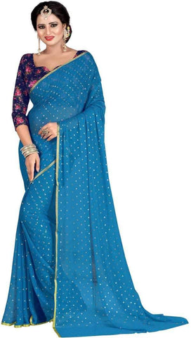 Firoji Color Nazneen Saree  - Star-Firoji