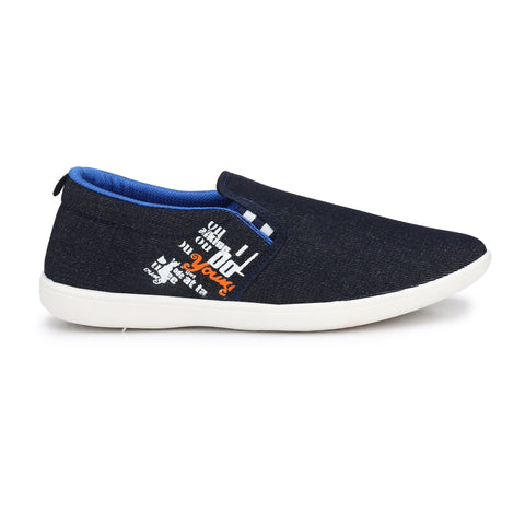 Blue Color Synthetic Men Shoes - Star4-Blue