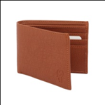 Brown Color Velvet Men's Wallet - TAN-ALB