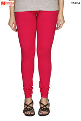 Pink Color  Cotton Legging
