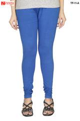 Blue Color  Cotton Legging