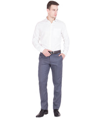 AMERICAN-ELM- Men's Cotton Formal Trouser- Blue Grey- TR100-28