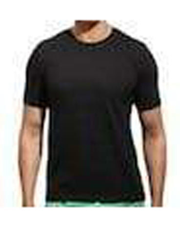 Black Color Pure Cotton Men's T-Shirt - TRSC-13