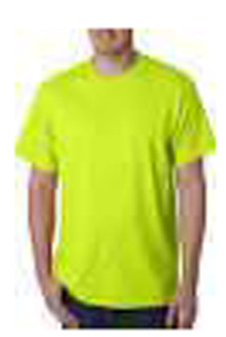Parrot Green Color Pure Cotton Men's T-Shirt - TRSC-3